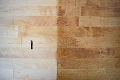 Hammarp Birch - Dark Tung Oil Coat 1