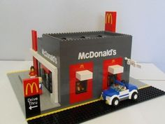 This awesome Lego McDonald's drive-through is the toy you'll really want - Mirror Online