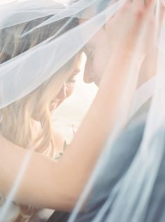 A bridal veil portra