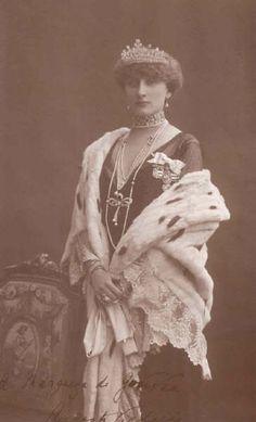 D. Augusta Victoria mulher de D. Manuel II, último Rei de Portugal