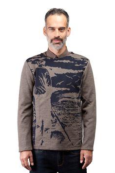 Taille P, M, G, TG, 100% laine Mérinos provenant d'Italie, tricot jacquard, fabriqué à Montréal, design québécois, disponible en 3 couleurs Boutique en ligne: www.breedknitting.com #knits #fw201314 #menswear