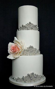 Striking Wedding Cake Designs. To see more: http://www.modwedding.com/2014/04/04/striking-wedding-cake-designs/ #wedding #weddings #cake #dessert #reception Featured Cake Design: Cakes by Konstadin