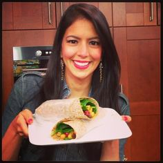 Chickpea Curry Wraps – Lunch On-The-Go!