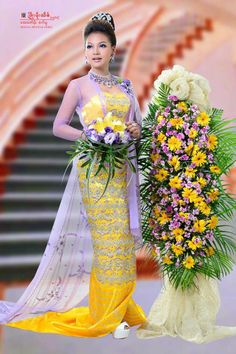 Burmese wedding dress