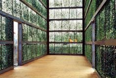 green architecture, atelier kempe thill, hedge building, green walls, living walls, green screens, sustainable design, eco architecture