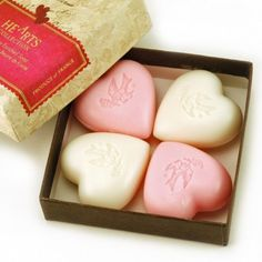 "Happy Valentine's Day! From Pre de Provence ""Hearts Collection"" Soaps"