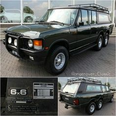 Land Rover Range Rover 6x6 by Scottorn Trailers