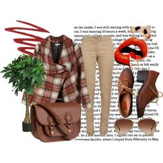 A fashion look from January 2014 featuring plaid jacket, pleated trousers and miz mooz shoes. Browse and shop related looks. Miz Mooz, Pleated Pants, Brown Jacket, Loafer Shoes, Evening Dresses, Fashion Looks, Bride, Shoe Bag, Nars Cosmetics