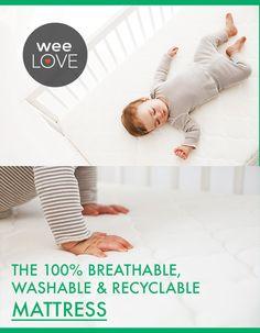 A breathable, washab