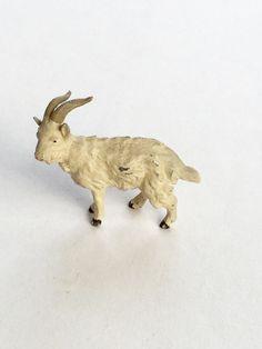 Goat Metal Lead German Toy Farm Animal Antique by GardenBarn on Etsy