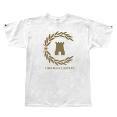 be535e9a46f90c Crooks and Castles Victory Men s T-Shirt White  crooksncastles Crooks And  Castles