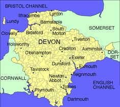 Map Of Uk Exeter.23 Best Devon Maps Images In 2014 Devon Map Plymouth Blue Prints