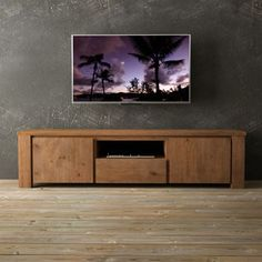 Tuscana Pinewood Reclaimed Wood 71-in. Television Stand - costco
