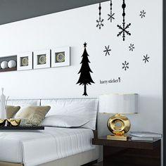 christmas tree and wall deco