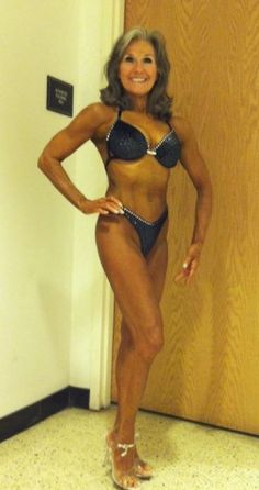 This woman is 68...your body is designed to go to 120..this is the new middle aged!