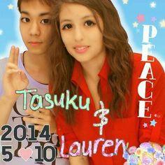 Lauren and Tasuku