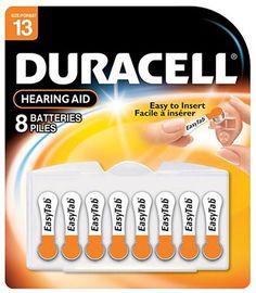 Duracell DA13B8 - Hearing Aid Battery 8 x 6 Pack