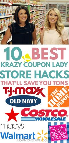 Awesome round up of the BEST KRAZY COUPON LADY STORE HACKS lists to save money to the max wherever you buy in store or via online shopping Life hacks and money hacks ever. Extreme Couponing, How To Start Couponing, Couponing For Beginners, Couponing 101, Save Money On Groceries, Ways To Save Money, Money Tips, Money Saving Tips, Money Hacks