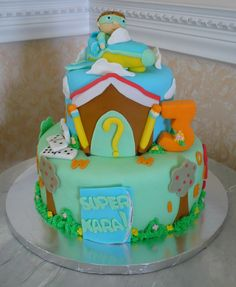 Cake Design Hialeah : 1000+ images about Super Why Cakes on Pinterest Super ...