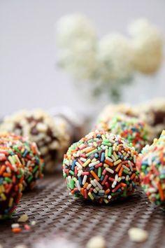 Erdnussbutter-Schokoladen-Trüffel-Pralinen