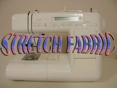 """@: There are 'Jersey' (Stretch material) sewing machine needles and best to use combo threads...polyester on upper and wooly Nylon for bobbins  which provides """"give"""" to the sewn areas."""
