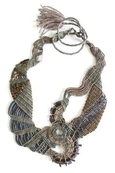 Tammy Tiranasar macrame jewelry.