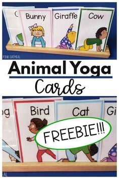 These are awesome for a classroom, home, daycare, or therapy session. Use as a brain break or set up in a movement station. Move like animals with these FREE cards. Get them today! Preschool Classroom Setup, Preschool Yoga, Music Classroom, Learning Activities, Preschool Activities, Physical Activities, Sight Words, Story Starter, Hickory Dickory Dock