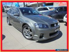 2012 Holden Commodore VE II MY12 SV6 Grey Automatic A Wagon #holden #commodore #forsale #australia