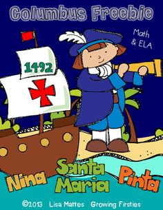 Columbus Day activities:  FREE Columbus Day printables.