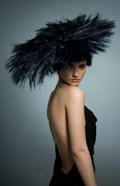 Nicki Marquardt, Haute Couture. #passion4hats