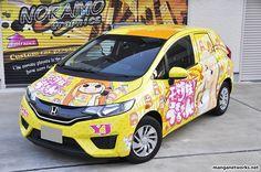 """Những chiếc xe ô tô với phong cách Manga - anime độc đáo sẽ làm bạn phải mê """"…"""