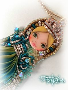 Art doll by Fantasiria OOAK design