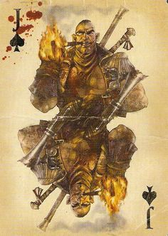 The Saker Joker card from Fable 3.