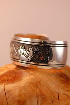 Large Navajo Horse Bracelet | Authentic Navajo Jewelry | Tommy Singer Bracelets