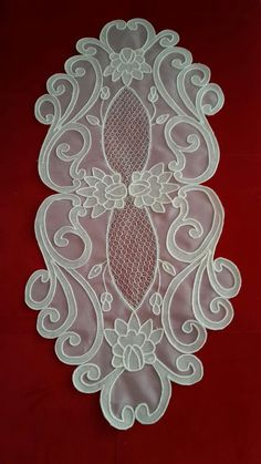 Learn Embroidery, Embroidery Patterns, Hand Embroidery, Crochet Doily Patterns, Crochet Doilies, Metal Worx, Organza, Parchment Craft, Bargello