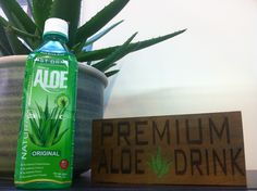 Just Drink Aloe Original Flavour. The Original Aloe Vera drink. Green Machine..