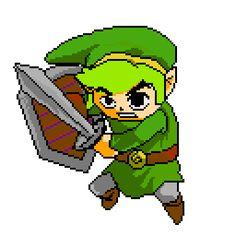 [OC] Link pixel art practice http://ift.tt/2fRGGkS