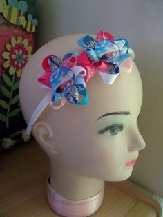 small flower loop frozen headband