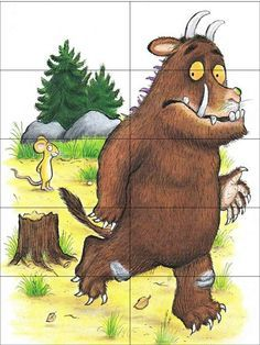 The Gruffalo Activities including this puzzle. Gruffalo Activities, Gruffalo Party, The Gruffalo, Book Activities, All About Me Eyfs Planning, Gruffalo's Child, Story Sack, Activities For 2 Year Olds, Album Jeunesse