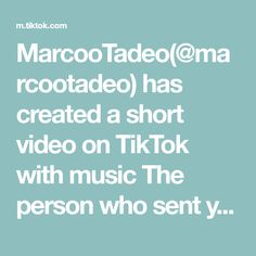 MarcooTadeo( has created a short video on TikTok with music The person who sent you this. Esto le va a estropear la noche a mas de uno Madison Beer, Texts, The Originals, Music, Frases, Photos, Musica, Musik, Muziek