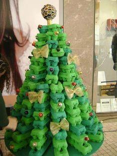 25 Creative DIY Christmas Tree Ideas--Here is Uncle David a Christmas Tree...LOL