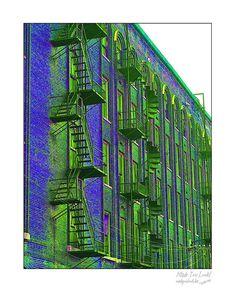 Fine Art wall print of urban building photograph by picspicspics, $20.00