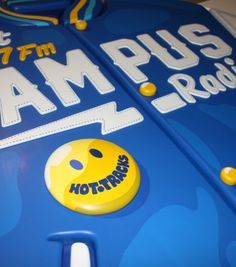 Campus Radio Sign by Jimmy Petitet, via Behance