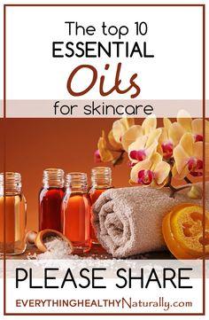 The top 10 essential oils for skincare