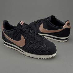 Nike Sportswear Womens Classic Cortez Leather Lux - Black