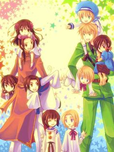 Hetalia ~ China, England and theire littel colonie
