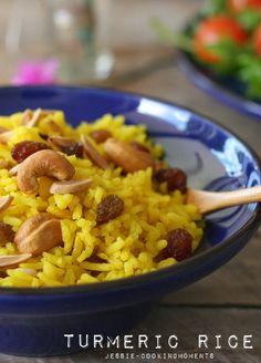 Ayam Percik with Turmeric Rice