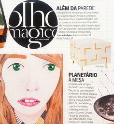 Revista Vogue | Novembro 2015 // Shop Online www.lurca.com.br/ #azulejos #azulejosdecorados #revestimentos #arquitetura #interiores #decor #design #sala #reforma #decoracao #geometria #casa #ceramica #architecture #decoration #decorate #style #home #homedecor #tiles #ceramictiles #homemade #vogue #voguebrasil