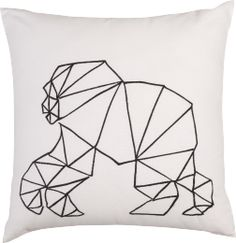 Animaux coussin gorille
