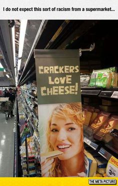 Inappropriate Supermarket Sign